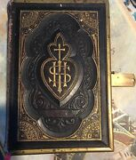 1st Ed Book 1873 The Manual Of St. Patrick Guide To Catholic Devotional Antique