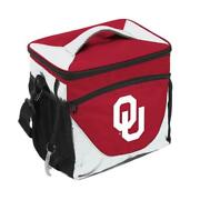 Oklahoma Sooners 24 Can Cooler [new] Ncaa Ice Cookout Bbq Drink Lunch Tailgate