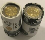 2020 End Of Wwii + Bill Reid 2 Toonie No-color Canada Special Rcm Coin Rolls