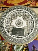 Versace Marqueterie Service Plate Charger Wall 12 New Rosenthal Prestige Gift