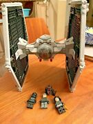 Lego Star Wars Tie Fighter 9492 100 Complete 4 Minifigs Manual