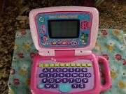 2017 Leap Frog 2-in-1 Leaptop Touch Pad, Pink, 5 Learning Modes Used