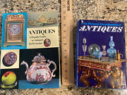 2 Illustrations Books On Antiques Pictorial Encyclopedia And Popular Guide