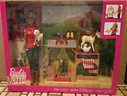 Barbie Sweet Orchard Farm Vet Doll And Animals Playset, Blonde Brand New Sealed