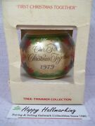 Hallmark 1979 Our First Christmas Together Ornament No Tag