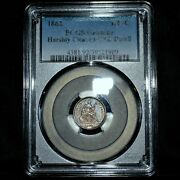 1862-p Seated 1/2 Half Dime ✪ Pcgs Unc Details ✪ H10c L@@k Uncirculated◢trusted◣
