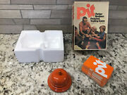 Vintage 1973 Parker Brothers Pit Card Game With Bell