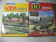 Model Train Catalogs/reference Books Walthers 2004 Ho And Nandz ++15 Flyers