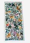 30 X 60 Inches Marble Dining Table Top Inlay Meeting Table With Animal Design