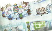 Olivets Bakery Mice Mouse Cute Childrens Timeless Treasures Fabric