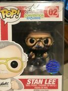 Stan Lee Sdcc 2014 Exclusive – Signed Funko Pop 02