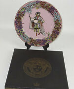 Versace Plate Collectible Luxury Home Wall Decor Rosenthal 12 Vintage Sale