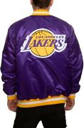 Los Angeles Lakers Authentic Starter Jacket Size L