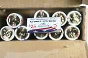 2020 D George H.w. Bush Presidential 1 Coin Rolls Mint Wrapped
