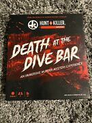 Hunt A Killer Death At The Dive Bar Pre-owned Pristine All Pieces Included.