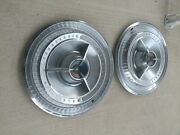 4andnbsp 1965 Ford Thunderbird Spinner Hubcaps In Good Condition.