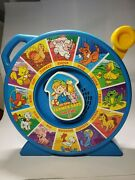 Mattel See 'n Say The Farmer Says-1989, Blue, Animal Sounds Classic Toy Tested