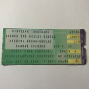 Ringling Brothers Barnum And Bailey Circus Reunion Arena Tx Ticket Stub Vtg 1986