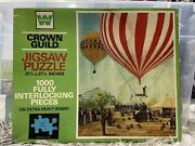 Whitman Crown Guild To The Air Rare Vintage 1000 Pc Puzzle New