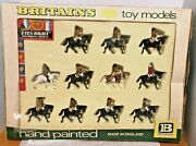 Eyes Right 7840 Set The Mounted Band Of Guards Vintage Toy Soldiers Britains Ltd
