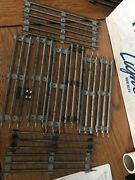 """Lot 10 Lionel Marx O Scale Straight Track Tubular 3 Rail Steel 10"""" Sections"""