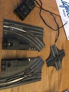 Lot 4 Lionel Marx O Scale Right/left Switch Control Crossing Tubular 3 Rail Stee