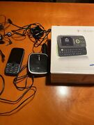Samsung Gravity Cell Phone With Charger, Car Charger, Ear Phones, Tmobile
