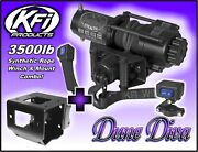 3500lb Kfi Stealth Winch Mount Combo - Yamaha Grizzly 660 2002-2008