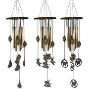 5x3pcs Wind Chimes Outdoors Large Wind Chimes With 8 Metal Tubes Amazing