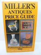Millers Antique Price Guide 1992 Hard Back Nice Used Condition Free Uk Post