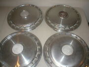Cadillac Deville Fleetwood 14 Hubcaps Wheel Covers Oem 1985 1986 Mixed Set Of 4