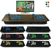 Fully Customized Acrylic 2 Player Double Arcade Joystick Usb Wired Controller Pc