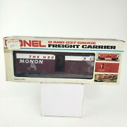Lionel O/027 Gauge Monon Mail Delivery Car Freight Carrier 6-9218
