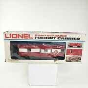 Lionel O/027 Freight Carrier 9271 Minneapollis And St Louis Caboose