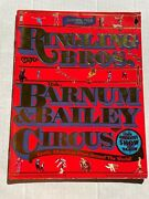 1986 Ringling Brothers And Barnum And Bailey Circus Program- Exotics Acts