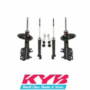 Kyb Excel-g 2 Front Struts And 2 Rear Shocks Suspension Kit Fits Altima 2002 To 06