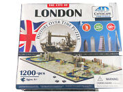 4d Cityscape Jigsaw Puzzle - London City Map With Time Layer Sealed