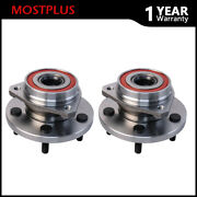 Pair Front Lh+rh Wheel Hubs Bearing Assembly For 1999-2004 Jeep Grand Cherokee
