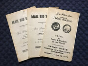 Three 1970 Jess Peters Coin Auction Catalogs W/ Prices Realized