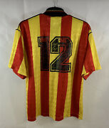 Partick Thistle Matchworn Home Football Shirt 1991/93 Adults Large Spall E487