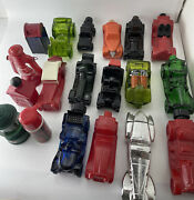 Vintage Lot Of 19 Avon Empty Bottles Cologne/after Shave Cars And Trains Big Lot