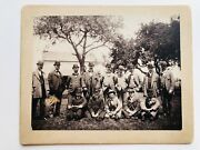 Vintage 1920-30and039s Photograph Of Men In Bowler And Derby Hats