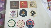 9 Old Vintage Coasters Signs From India 1980