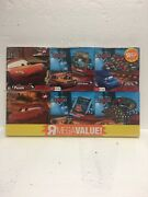 Disney Pixar Cars 6 Pack Card Game And Puzzles Toys R Us Exclusive New Sealed