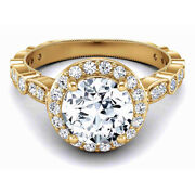 0.90 Ct Natural Diamond Ladies Wedding Rings Solid 14k Yellow Gold Size 6 7.5 8