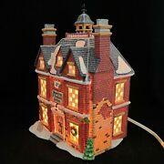 Boarding And Lodging School 18 Dept 56 1993 Lighted Box 58092 Dickens Village