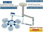 Stainless Steel Suspension Arm Single Dome Examination Surgical Light Ot Light