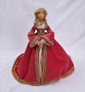 Anne Of Cleves Art Doll 12 1/2 Ooak One Of A Kind Handmade Tudor Queen