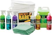 New Complete Boat Care Kits Babeand039s Boat Care Bb7501 Bucket Of Babes