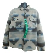 Menand039s Jachs New York Fully Lined Wool Blend Patterned Shirt Jacket